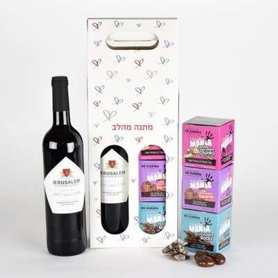 מארז בוטיק- חבילות שי, מתנות לפסח, מארז שוקולד