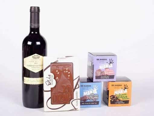 מארז שוקולד ויין- חבילות שי לעובדים לחג