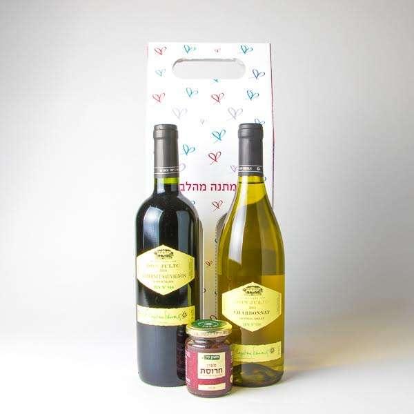 מארז יינות לפסל- חבילות שי לפסח, מתנות לעובדים לחג