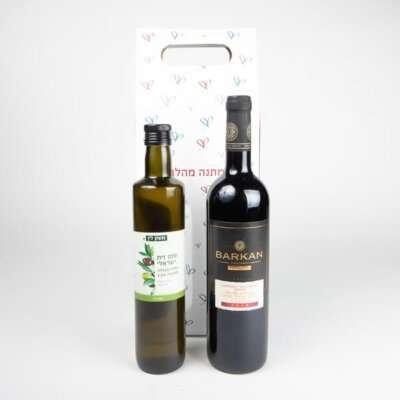 מארז קלאסי- מתנות לועדי עובדים, שי לחג, מארזי יין, מארזי שמן זית