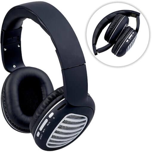 אוזניות בלוטוס שחורות