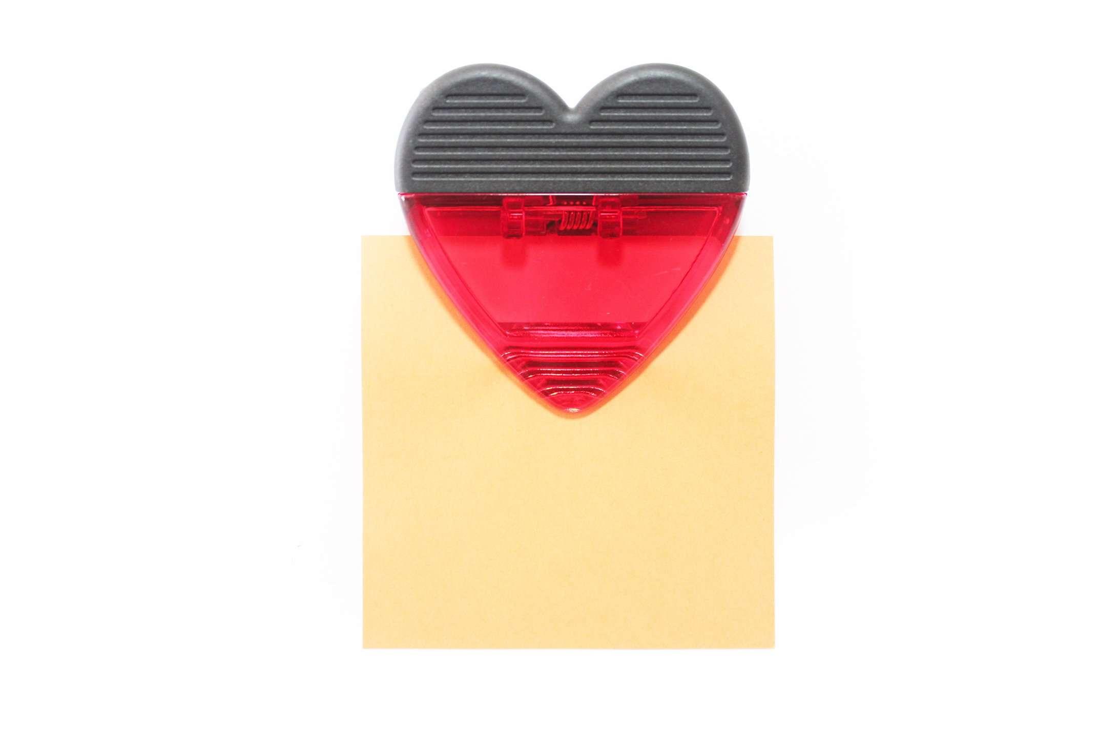 קליפס מגנט בצורת לב