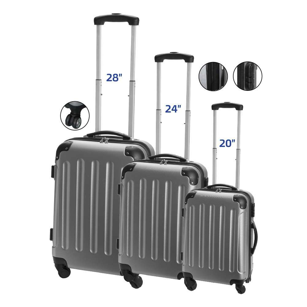 טרוולר סט מזוודות- מתנות לעובדים, מתנות לפסח