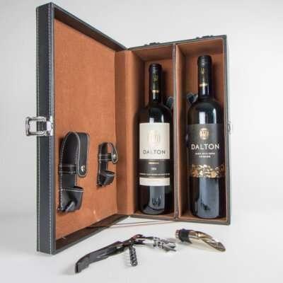 דלתון במארז יוקרתי- מארז יינות לחג, מתנות לעובדים, מתנות ללקוחות