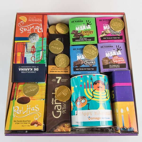 מארז בוטיק לחנוכה- מתנות לעובדים לחנוכה