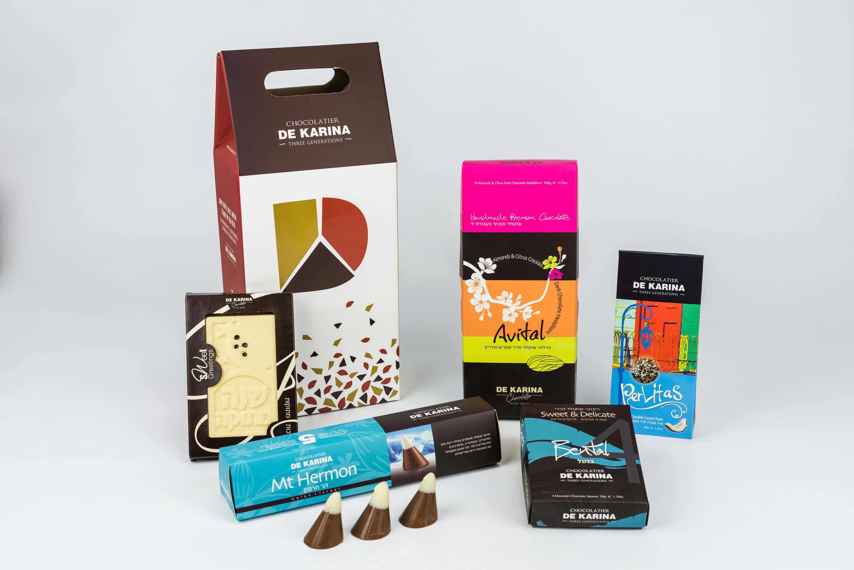 מתוק ומענג- חבילות שי שוקולד דה קרינה