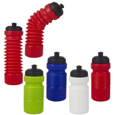 בקבוק ספורט אקורדיאון- בקבוקי ספורט ממותגים