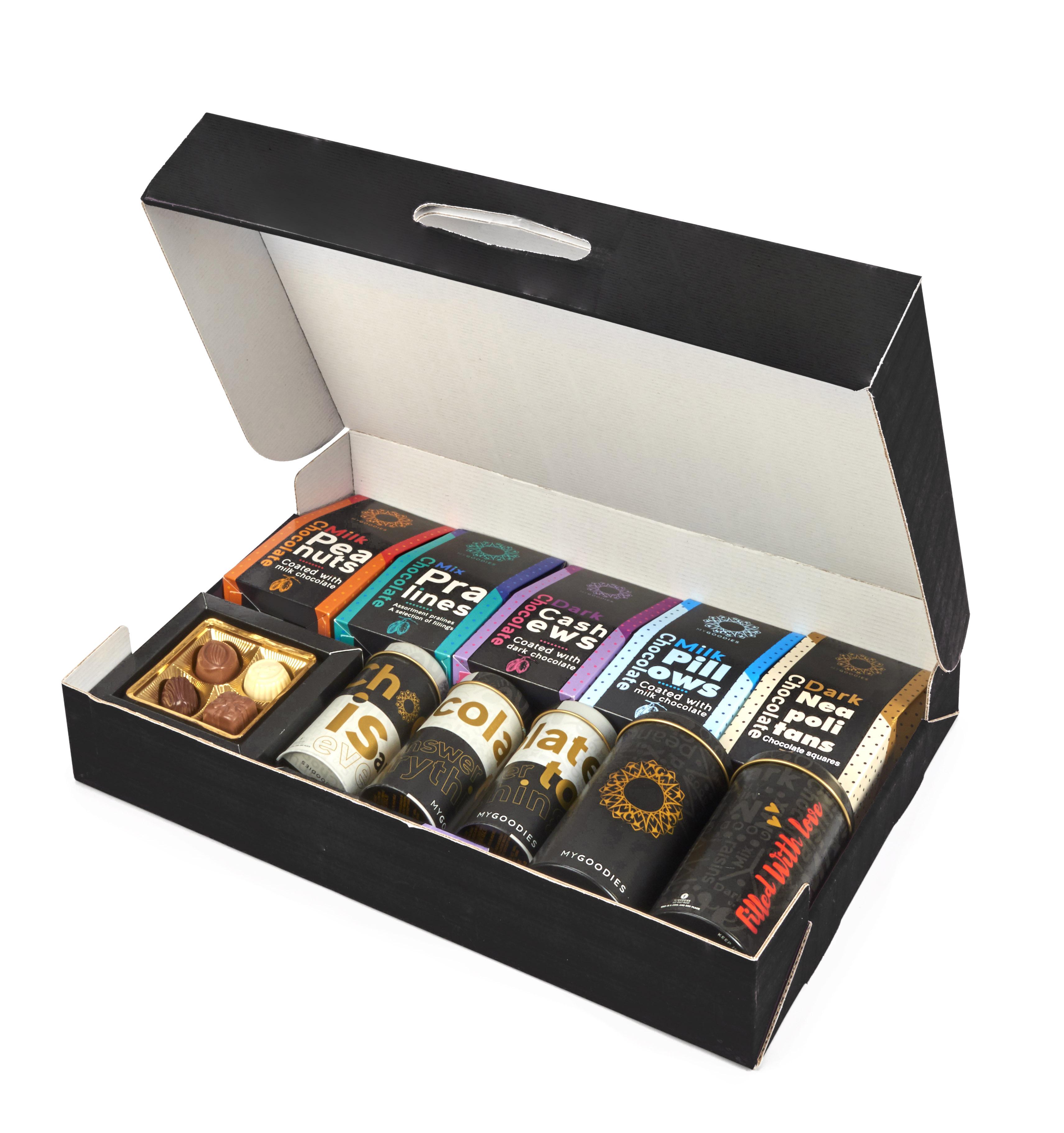 מזוודת שוקולדים-מתנות ללקוחות