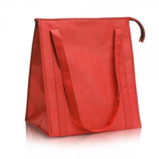 צידנית תיק קניות אדום
