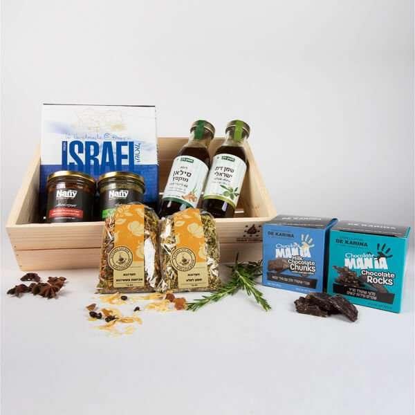 מארז שי ישראלי- מתנות לראש השנה, מתנות לעובדים, חבילות שי