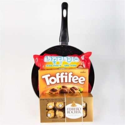 מחבת שוקולדים-מתנות לפורים
