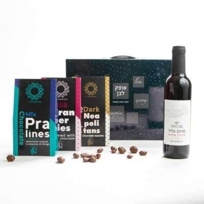 ג'נבה- מארזי שוקולד ויין, חבילות שי לחג, מתנות לראש השנה