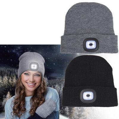 כובע עם פנס- מתנות מקוריות, מתנות לחורף, מתנות ממותגות
