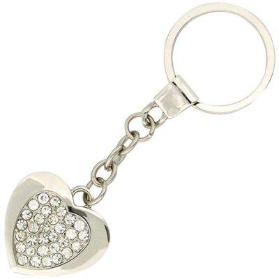 מחזיק מפתחות לב עם אבנים- מתנות ליום האישה, מחזיקי מפתחות ממותגים