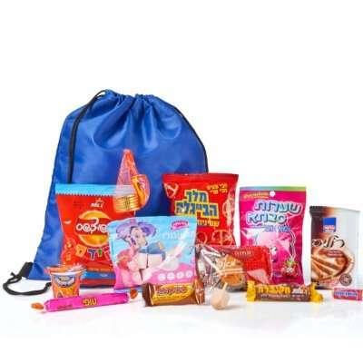 תיק מתוקים- חבילות שי, משלוחי מנות לפורים, מתנות לחנוכה