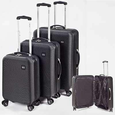 מקורי סט מזוודות SWISS- מתנות לאתרי בחירה, מתנות לחגים, מתנות לפסח. EM-04