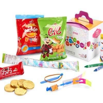 מארז תרומה ילדים בסיכון- מתנות לחנוכה