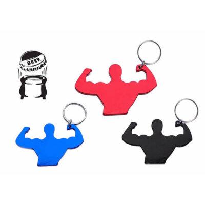 מחזיק מפתחות חדר כושר- מחזיק מפתחות ממותג