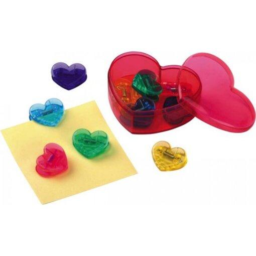 קופסת קליפסים לב- מתנות לכנסים