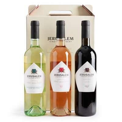 מעורב ירושלמי- מארזי יין לחג, מתנות לעובדים