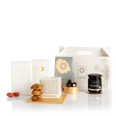 מארז קונפיטורה ושוקולד- מתנות לפסח, מתנות לראש השנה, מתנות לחג