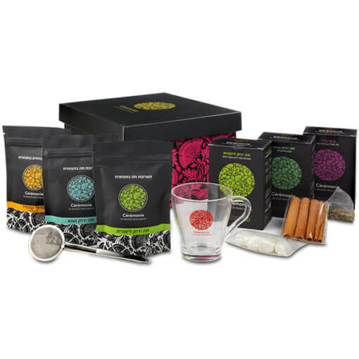 תה אירוס-מתנות ללקוחות