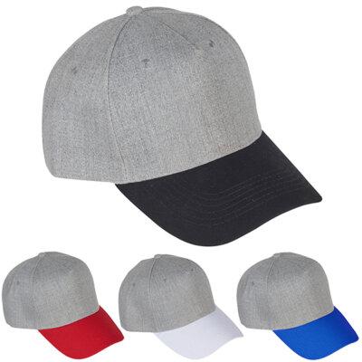 כובע כותנה מוברש-כובעים ממותגים