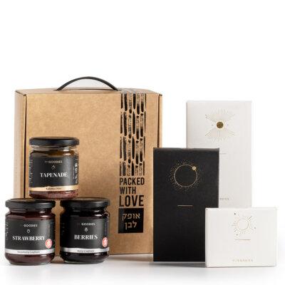 מארז שוקולדים וממרחים- מתנות לעובדים, מתנות ללקוחות
