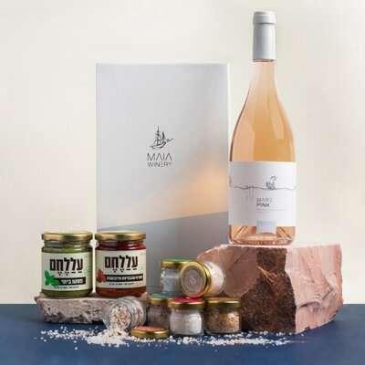 מארז מארה פינק- מארזי יין, חבילות שי, מתנות לפסח
